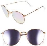 Ray-Ban Women's Icons 53Mm Folding Sunglasses - Copper Flash