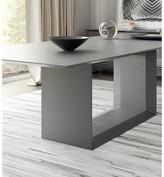 """Modloft Greenwich Dining Table Black Size: 30"""" H x 87"""" L x 45"""" W, Color: Natural Oak"""