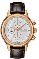 Tissot Mens Carson Automatic Chronograph Rose Goldtone Watch