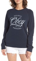 Obey Women's Note Script Sweatshirt
