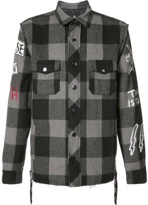 Haculla plaid shirt jacket
