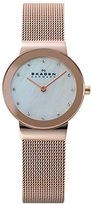 Skagen Women's 358SRRD Freja Rose Gold Mesh Watch