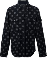 Engineered Garments polka dot shirt jacket