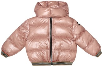 BURBERRY KIDS Quilted puffer jacket