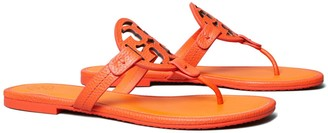 Tory Burch MILLER SANDAL, TUMBLED LEATHER