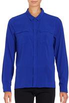 T Tahari Tribeca Long-Sleeve Blouse