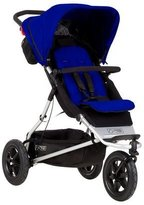 Mountain Buggy 2015 Plus One Inline Double Stroller with Second Seat, Marine by Mountain Buggy