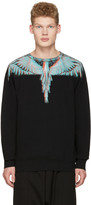Marcelo Burlon County of Milan Black Salvador Pullover