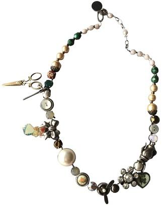 Reminiscence Multicolour Metal Necklaces