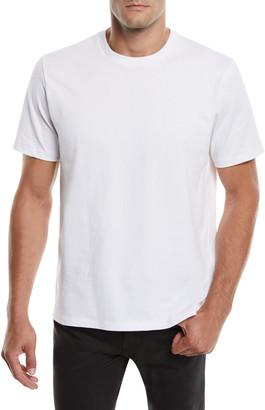 Frame Men's Heavyweight Cotton Crewneck Classic Fit T-Shirt