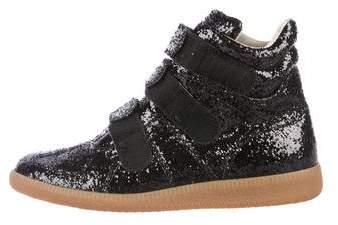 Maison Margiela Glitter High-Top Sneakers