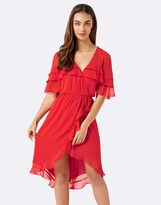 Forever New Ruffle Midi Dress
