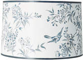 One Kings Lane Garden Hand-Painted Lampshade - Blue/White