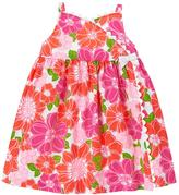 Gymboree Floral Wrap Dress