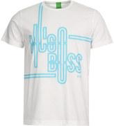 BOSS Green T-Shirt 50342560-100 White