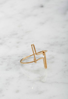 Forever 21 FOREVER 21+ by boe Double Linear Ring