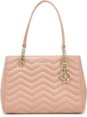 Kate Spade Reese Park Quilted Leather Tote