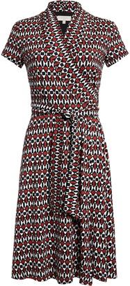 Hobbs April Midi Wrap Dress