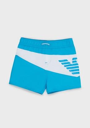 Emporio Armani Swimming Boxers With Logo