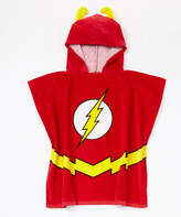 Intimo The Flash Terry Hooded Poncho - Boys
