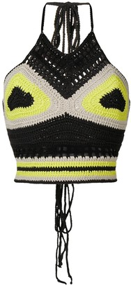 Ambush Waves Crochet Top