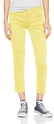Silvian Heach Women's Sarney Skinny Jeans, Yellow Sun