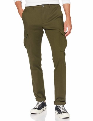 Tommy Hilfiger Men's Bleecker Cargo Fine Pd Structure Trouser