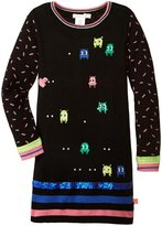 Billieblush Sweater Dress (Toddler/Kid) - Black/Multi - 4 Years