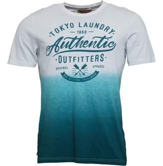 Tokyo Laundry Mens Authentic T-Shirt Mediterranean