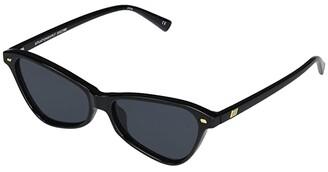 Le Specs Situationship (Black/Smoke Mono) Fashion Sunglasses