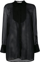 Valentino sheer blouse - women - Silk/Cotton/Polyamide - 42