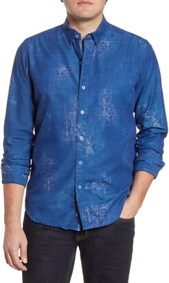 Robert Graham Holmes Regular Fit Button-Up Shirt