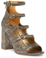 Joie Laina Metallic Block Heel Sandal