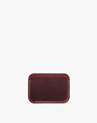 Madewell MAKR Leather Round Wallet