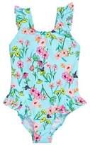 Hula Star Toddler Girl's Fairy Garden One-Piece Swimsuit