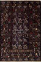 """Ecarpetgallery Hand-knotted Rare War 6'8"""" x 10'0"""" 100% Wool Traditional area rug"""