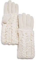 Rebecca Minkoff Cable Knit Tech Gloves