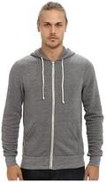 Alternative Rocky Zip Hoodie (Eco Grey) Men's Sweatshirt