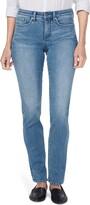 NYDJ Sheri Slim Straight Leg Jeans