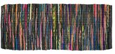 """Home Essentials DII Rag Rug for Kitchen, Livingroom, Entry Way, Laundry Room, and Bedroom (2'3"""" x 6-Feet), Multi Color"""