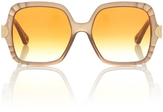 Chloé Vera oversized square sunglasses