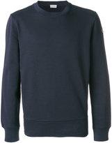 Moncler shell-panelled sweatshirt