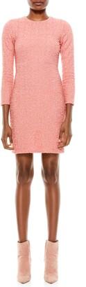 Alice + Olivia Delora Sequin Minidress