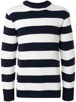Junya Watanabe long sleeved stripe pullover