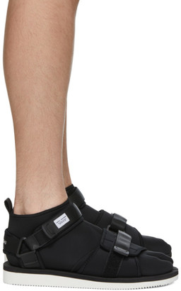 Suicoke Black maharishi Edition Kuno Flat Sock Sandals