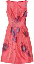 Lela Rose Floral jacquard dress