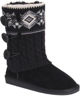 Muk Luks Mid-Calf Boots - Cheryl