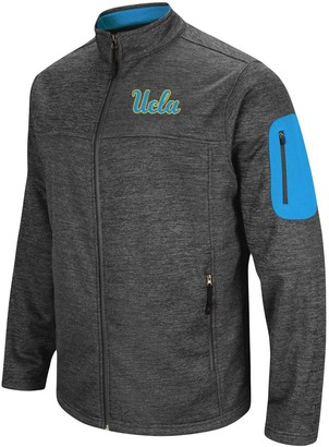 Colosseum Men's Heathered Charcoal UCLA Bruins Big & Tall Anchor Full-Zip Jacket