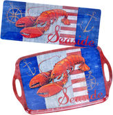 Certified International Maritime 2-pc. Melamine Platter Set