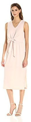 Vero Moda Women's Zen Bow Calf Dress